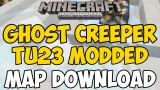 Minecraft Xbox 360/One: Ghost Creeper Modded map Download