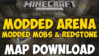 Minecraft Xbox 360/One: Modded Mob Arena map Download