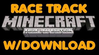 Minecraft Xbox 360/One: Car Modded Race Track map Download