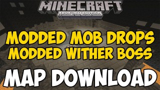 Minecraft Xbox 360/One: Modded Custom Mob Drops map Download