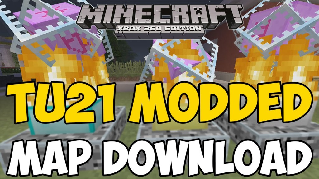 Minecraft Xbox 360 One Modded Map Download V1