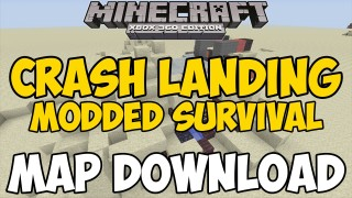 Minecraft Xbox 360/One: Modded Survive Crash Landing map Download