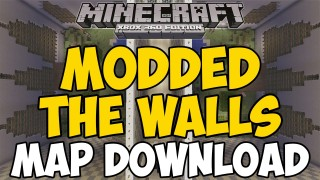 Minecraft Xbox 360/One: The Walls Modded Version map Download