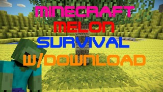 Minecraft Xbox 360/One: Modded Melon Survival map Download