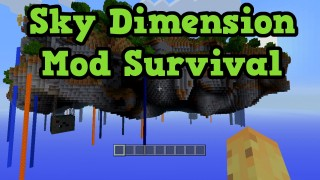 Minecraft Xbox 360/One: Modded Survival Sky Dimension map Download