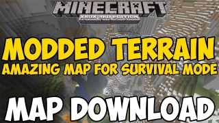 Minecraft Xbox 360/One: Modded Terrain map Download
