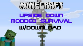 Minecraft Xbox 360/One: Modded Survival map Download (Upside Down Sky Island Survival)