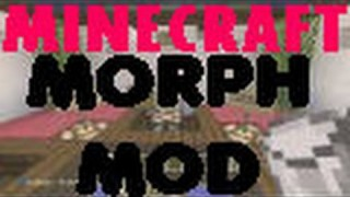Minecraft Xbox 360/One: Morph Mod Concepts Modded map Download