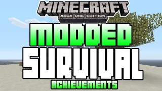Minecraft Xbox One: Modded Survival (Unlock All Achievements) map Download