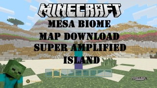 Minecraft Xbox 360/One: Mesa Biome Modded map Download