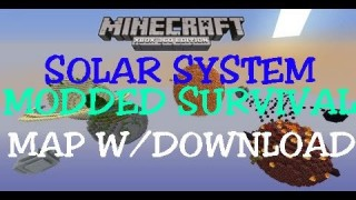 Minecraft Xbox 360/One: Solar System Modded Survival map Download