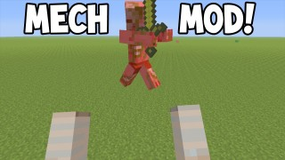 Minecraft Xbox 360/One: Mecha Iron Gollem Modded map Download