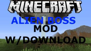 Minecraft Xbox 360/One: Alien Invasion Boss Mod map Download
