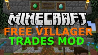 Minecraft Xbox 360/One: Free Villager Trades Modded map Download