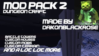 Minecraft Xbox 360/One: DungeonCraft Mod Pack map Download