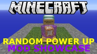 Minecraft Xbox 360/One: Random Power Up Modded map Download