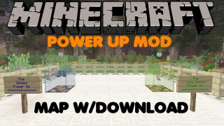 Minecraft Xbox 360/One: Power Up Mod map Download