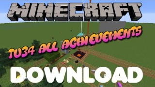 Minecraft: Xbox 360/One TU34 All Achievements map Download