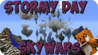 Minecraft Xbox 360/One: Modded Skywars Stormy Days map Download