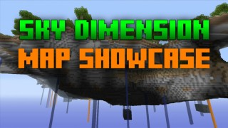 Minecraft Xbox 360/One: Modded Sky Dimension Survival map Download